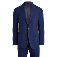 Polo Ralph Lauren Navy Wool Suit 50 L New $995