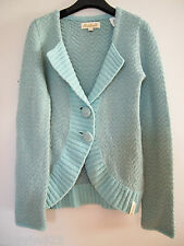MADE IN ITALY KILLAH MISS SIXTY SWEATER CARDIGAN JACKET WOOL MINT GREEN XS