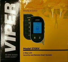 Viper 5706V 2-Way LCD Security / Remote Start / Keyless Entry / SmartStart