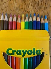 New listing Crayola® Colored Pencils - Pre-sharpened Assorted Colors, 12/Box - New