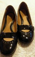 Women's GNW Patent Leather Shoes Black Sz 8 M Mary Jane Style
