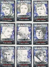 Star Wars Perspectives [UK Exclusive] Complete Wanted Poster Chase Card Set 1-10