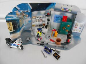 Playmobil 9007 Polizeieinsatz im Juweliergeschäft (Adventskalender), vollständig