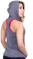 FIBER WOMEN VEST GYM WORKOUT ACTIVWEAR SPORTSWEAR One Size XS t MED PURPLE COLOR
