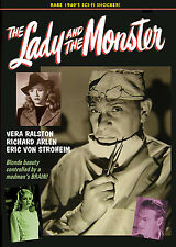 LADY AND THE MONSTER - RARE 1940's HORROR FILM! ERIC VON STROHEIM DVD