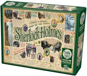 NEW! Sherlock Holmes 1000 piece jigsaw puzzle 680mm x 490mm + poster