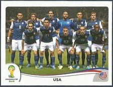 PANINI WORLD CUP 2014- #546-UNITED STATES-USA TEAM PHOTO