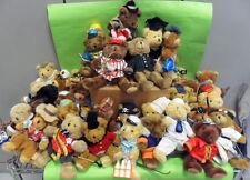 TEDDY BEAR COLLECTION. ORSETTI PELUCHE. VARI PERSONAGGI. LEGGI BENE