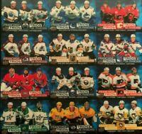 Tim Horton's Upper Deck 2020-2021 Hockey Cards Franchise Trios! U-Pick Hortons