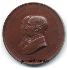 FREDERICK HUTH & EMANUELA PHILIPPA MAYFREN MEDAGLIA 50° MATRIMONIO 1856