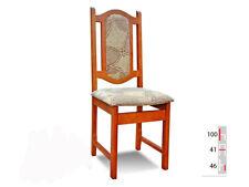 Bois Massif Chaise de Salle à Manger Design Cuir à K23