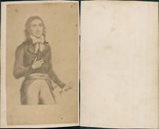 Camille Desmoulins, avocat, journaliste et révolutionnaire français,  circa 1860