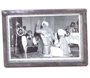 Vintage Beautiful MUSICIAN SCENE Black&White Photograph #360