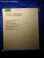 Sony Bedienungsanleitung YR 3000 S-RGB Transcoder (#0352)