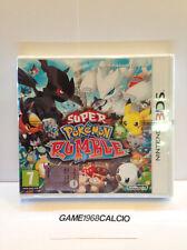 SUPER POKEMON RUMBLE (NINTENDO 3DS) VIDEOGIOCO NUOVO SIGILLATO NEW VIDEOGAMES