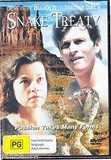 Snake Treaty DVD Genevieve Bujold Timothy Daly