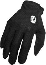 SUGOI RPM Gloves Womens Medium Full Finger Cycling Road Mountain Bike Wick Black