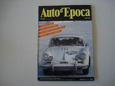 AUTO D'EPOCA 3/1990 LANCIA FULVIA SPORT/ALFA ROMEO GIULIETTA SPRINT/BENELLI 125