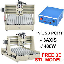 CNC Router Kit USB 3 Axis 3040 Wood Carving Engraving Machine PCB Milling Mach3