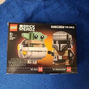 LEGO 75317 Brick Headz Star Wars The Mandalorian The Child 113 & 114