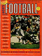 Sports Quarterly Pro Football 1972, Raiders and Rams Cover no address Label