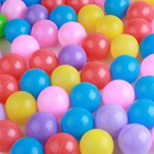 200 Stück Ø70mm Bunte Farben Kinderbälle Spielbälle Bällebad Kugelbad Bälle
