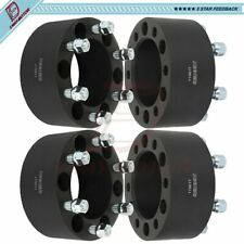 6x5.5 3 inch Fits Chevrolet Avalanche Suburban Silverado 1500 4Pcs Wheel Spacers