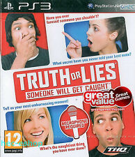 Truth Or Lies Sony Playstation 3  PS3 12+ Party Game