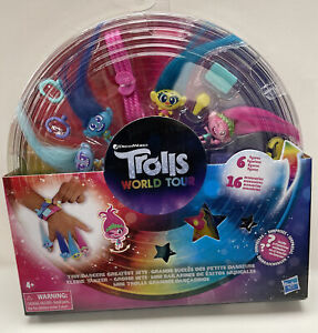 Trolls World Tour Tiny Dancers Greatest Hits 6 Figures 16 Wearable Accessories