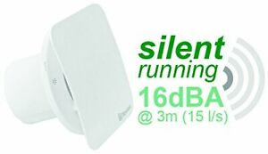 Xpelair Quiet Silent Bathroom Extractor Fan Air Vent Timer 2 Speeds Wall Ceiling