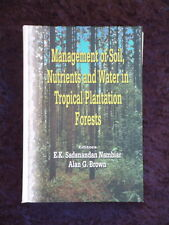 Brown - Management of Soil Nutrients and Water in Tropical Plantation Forests HC