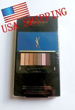 NEW! Yves Saint Laurent YSL Eyeshadow Palette 8 colour Collector Make Up Travel