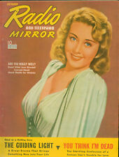 Radio TV Mirror Oct. 1940 Very Early Television Fan Magazine Joan Blondell