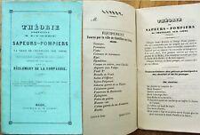 Fire/Firefighting 1847 Manual, Chatillon-sur-Loing, Loiret, France - Fire Pumps