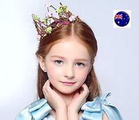 Flower Girl Fairy Wedding Party Hair Headpiece Headband Crown Tiara Garland