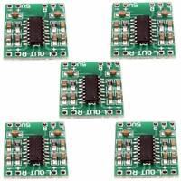 5Pcs Digital DC 5V 2*3W USB Power Mini Class-D Amplifier Board LCD PAM8403