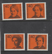WEST GERMANY MNH STAMP DEUTSCHE BUNDESPOST 1974 WOMEN IN POLITICS SG 1683-1686