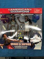 Venus and Verena Williams - Grandslam Champions Boxed Figure Set - Tennis