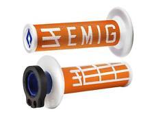 Revestimientos bloqueo Odi Emig V2 Dos tonos Naranja/Blanco Semi-relieve