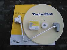 original TechniSat SATMAN 850 Plus,6785/8882,mit UNYSAT Twin-LNB  polarweiß neu