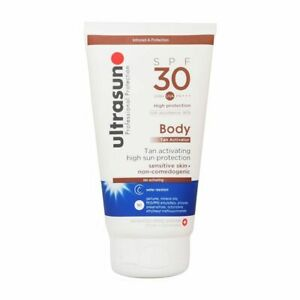 Ultrasun Body Tan Activator High Sun Protection SPF30 150ml