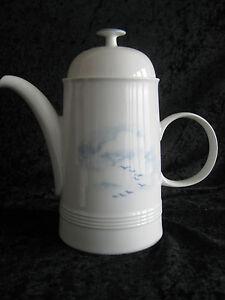 Kaffeekanne Friesland Jeverland kleine Möwe