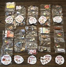 "Re-ment ""Walk And Eat"" Complete 10 Sets Miniature Food for Blythe"