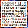 200+ Star Wars Minifigures Darth Vader Yoda Obi-Wan Han Solo Ren Harry Potter