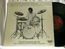 BUTCH MILES Encore Carmen Leggio Russell Procope John Bunch Milt Hinton LP