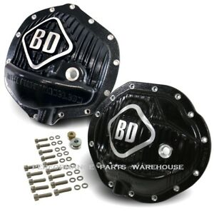 BD DIESEL F&R DIFFERENTIAL COVERS DODGE RAM 2003-13 2500, 2003-12 3500