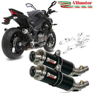 Mivv Gp Carbonio Z 1000 2014 Kawasaki Scarichi Terminali Moto 2 SLIP-ON K039L2S