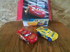 Carerra 1. First Disney Pixar Cars Slot Cars: Lightning Mcqueen + Dinoco Cruz