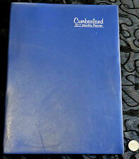 OLD 2017 Cumberland Monthly Calendar Planner A4 Month View Large Grid Flex Cover