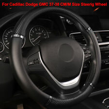 For Cadillac Dodge GMC Steering Wheel Cover Car Steering Cover 37-38CM/ M Size